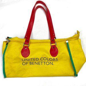 United Colors of Benetton Yellow Duffle Bag